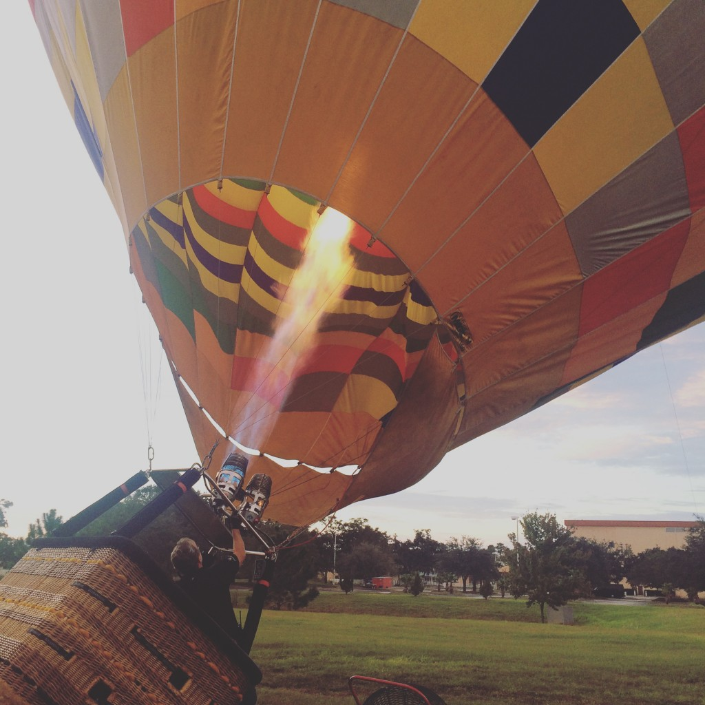 Use any transportation you want, but even Phileas Fogg never took a hot air balloon. Not in the book, anyway.